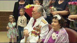 Пара-долгожитель из Нефтеюганска отметила 70-летие свадьбы