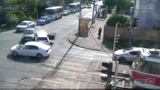 ДТП на ул. Северная и Каляева 19.05.2018