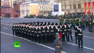 Реконструкция военного парада 1941 года на Красной площади