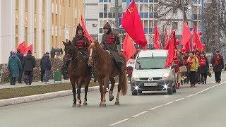 В Саранске мордовские коммунисты отметили очередную годовщину Октябрьской революции