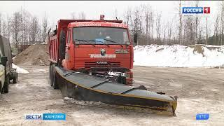 358 спецмашин выйдут на уборку дорог Карелии