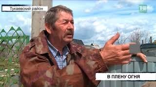 Один человек погиб в огне в одном из садовых товариществ в Тукаевском районе - ТНВ
