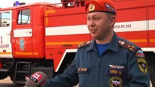 Шестилетний Андрей побывал в пожарной части в рамках проекта «Чтобы все были дома»