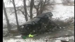 На донской трассе в аварии погиб водитель 22.3.2018 Ростов-на-Дону Главный