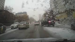 ДТП Коза на дороге.