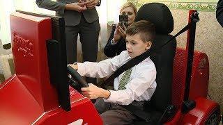 Автокласс для детей с ограниченными возможностями здоровья открыли в Волгограде