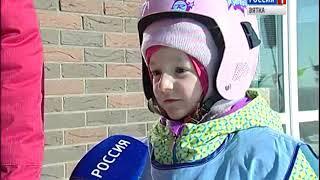 В Кирове прошли сноубордические соревнования для самых юных спортсменов(ГТРК Вятка)