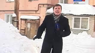 На улицах города продолжается борьба со снегом(ГТРК Вятка)