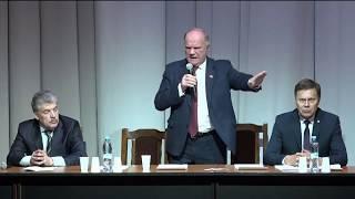 Встреча Павла Грудинина с детьми войны (Москва, 11.03.2018)