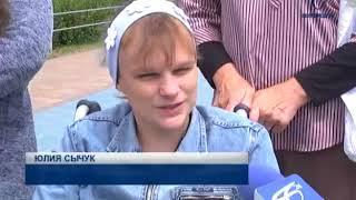 Для слабовидящих белгородцев провели осязательную экскурсию