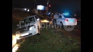 Пьяный водитель попал в больницу, скрываясь с места ДТП в Хабаровске. Mestoprotv