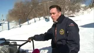 30 03 2018 Спасатели в Ижевске готовятся к прохождению весеннего паводка