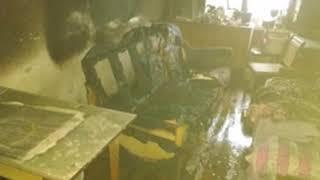 В результате пожара в жилом доме в Рыбинске погибла женщина