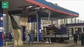 Взрыв на АЗС: ФАН публикует фото и видео с места происшествия в Петербурге