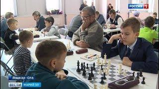 В Йошкар-Оле прошёл первый открытый турнир по быстрым шахматам