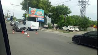 ДТП Днепропетровск 03.06.2018 - Выбил с дороги