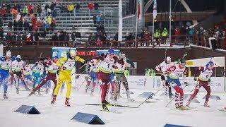 В Ханты-Мансийске биатлонисты побегут спринт
