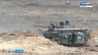 Алтайские военные приняли участие в масштабных учениях «Восток -2018»