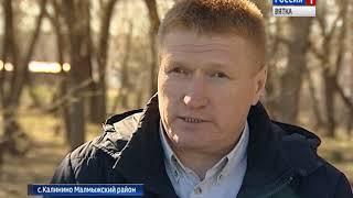 В селе Калинино Малмыжского района установят бронзовый бюст генералу Асапову(ГТРК Вятка)