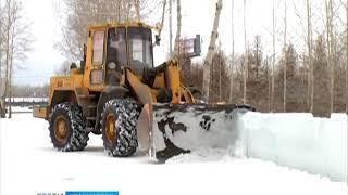 На острове Татышев начали демонтаж главного ледового городка Красноярска