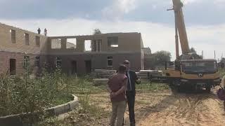 В поселке Михайловский возобновилось строительство детского сада