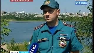 В Иркутске полицейские и спасатели инспектируют водоёмы, где нельзя купаться