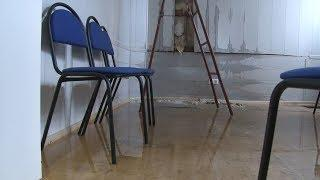 В Волгограде кабинет депутата Госдумы от Волгоградской области  превратился  в большую лужу