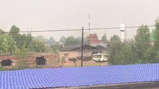 Пожар в Александровском
