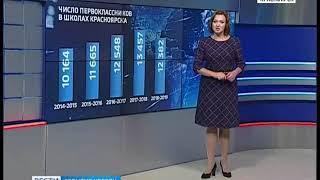 Жизнь в цифрах: как меняется число первоклассников в Красноярске