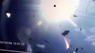 В Астрахани лоб в лоб столкнулись две иномарки