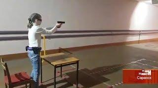 В Саранске прошли первые официальные соревнования по стрельбе из пневматического пистолета
