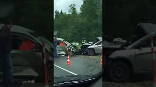 Страшное ДТП на дороге Окуловка — Крестцы