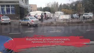 ДТП с участием «скорой» произошло в Вологде: есть пострадавший