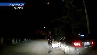 В Саках задержали пьяного водителя