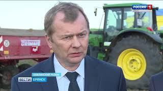 Могилёвская делегация на Дне картофельного поля в Брянске