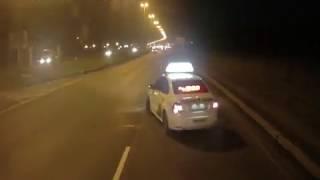 ДТП в Ленинской Области. Яндекс такси.