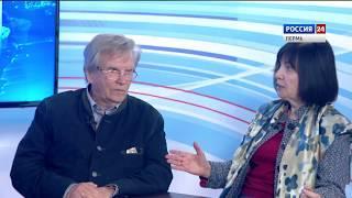 Гости студии Нелли Алекперова и Владимир Федосеев
