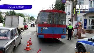Обзор аварий  4 пострадавших в Пижанке  Место происшествия 10 08 2018