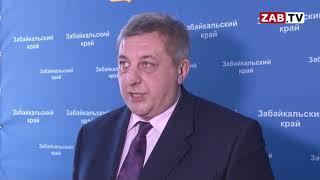"Александр Кулаков в статусе ""и.о. губернатора"" провёл брифинг для журналистов"