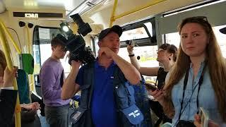 В Тюмени испытывают новые электробусы