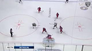 Хоккейная «Северсталь» неудачно начала выездное турне на восток страны