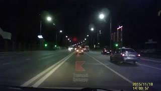 Видео с регистратора: ДТП на Ростовке