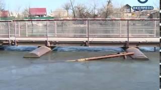 В Пензе затопило набережную. ФОТО
