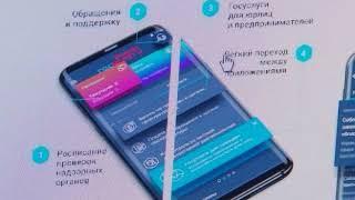 Мобильное приложение «Госуслуги бизнес»