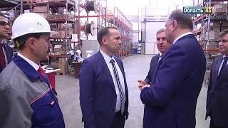 Не в кабинет, а на производство. Вадим Шумков в первый рабочий день посетил индустриальный парк