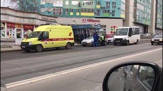 В Уфе водитель потерял сознание за рулем