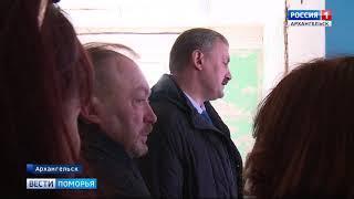 Глава Архангельска оценил ход ремонта заброшенного здания для Исакогорского ДЮЦ