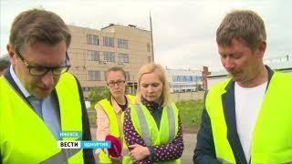 В Ижевске приняли первые объекты, отремонтированные по программе «Безопасные и качественные дороги»