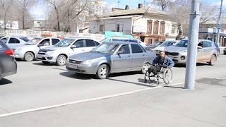 Инвалиды-попрошайки в Оренбурге