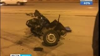 В ночном ДТП на улице Тимирязева в Иркутске пострадали три человека